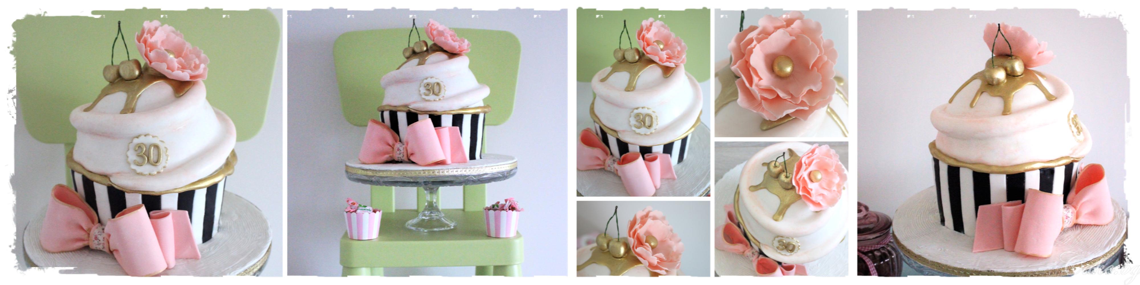 Торта Къпкейк (Giant Cupcake)